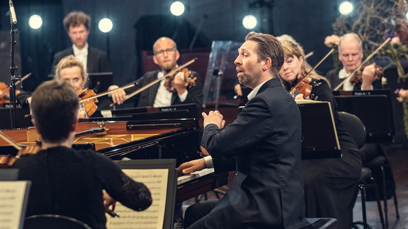 Andsnes and the Oslo Philharmonic at the cinema teaser